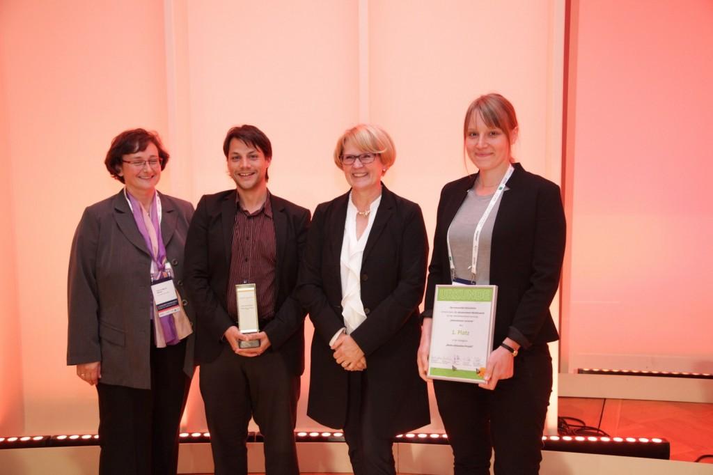 ©BearingPoint von links: Prof. Dr. Maria A. Wimmer, Ulrich Forster, Staatssekretärin Cornelia Rogall-Grothe, Friederike Hoffmann