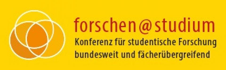 logo_forschen at studium_studentische Forschung